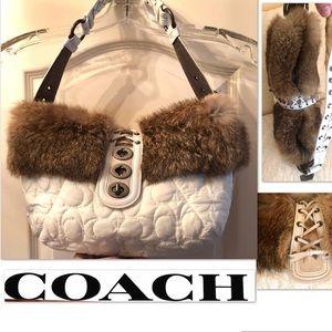 Coach Bags - COACH Bag Rabbit, Leather, Suede, Coach Fabric